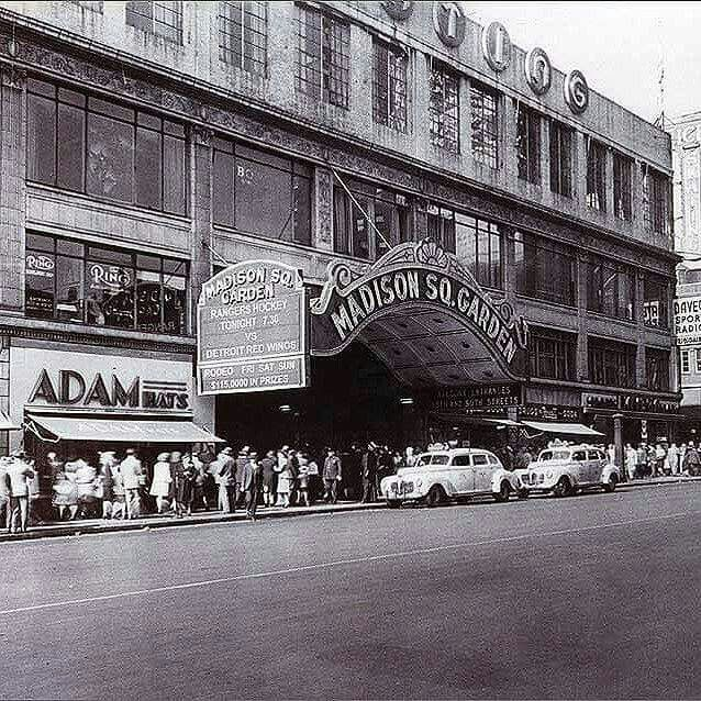 3674 best vintage new york city and the boroughs images on - History of madison square garden ...