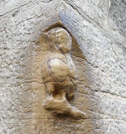 DIJON La chouette (owl) at Notre Dame is known to bring luck when touched with the left hand