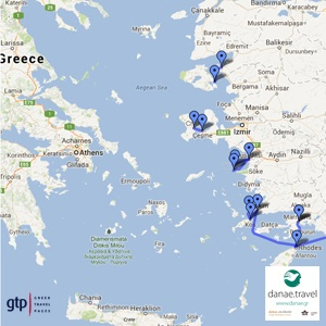 Ferry routes connecting Greece and the Greek Islands to Turkey   Danae.Travel Blog