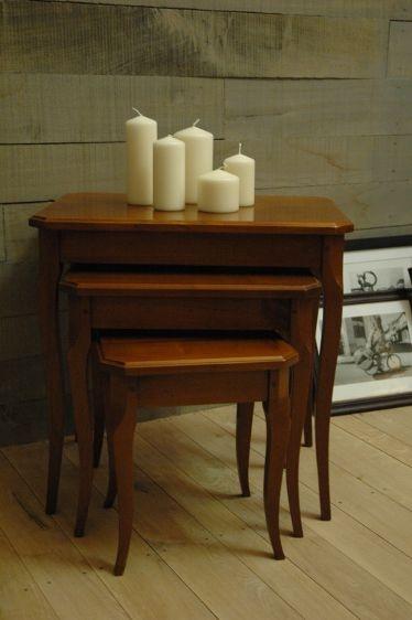 Tables gigognes Louis XV par Les Ateliers de la Billardière