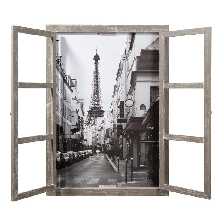 Schilderij Parijs raam (mdm)