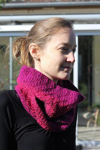 Joshua Cowl #free #knitting #pattern