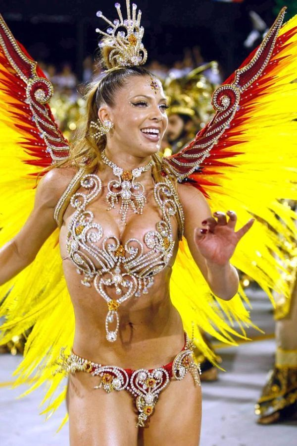 Carnival Girls  Rio De Janeiro Carnival Girls 125 Pics -6084