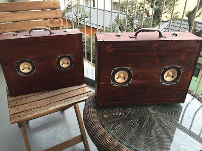 monophonica: 久しぶりにサウンドトランクを2台作りました!