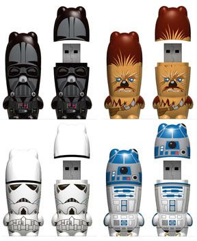 Star Wars USB's.