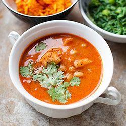 Curry pomidorowe z dorszem i ciecierzycą | Kwestia Smaku