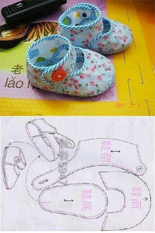 doll shoe pattern