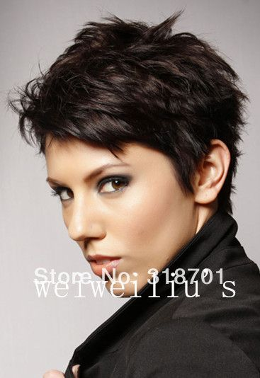 Cheap hairstyles streaks, Buy Quality wig hairstyles directly from China hairstyles color Suppliers: Women Nice short Natural curly wig Stylish lady Blonde hair wigs synthetic Free Shipping
