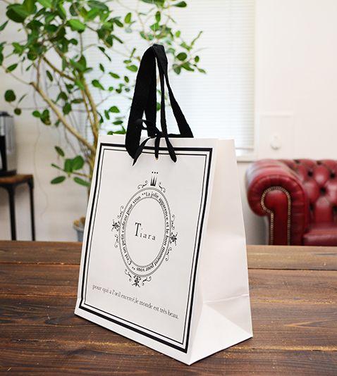クラシカルで大人可愛い紙袋   オリジナル紙袋印刷・手提げ袋・製造印刷 berry B ベリービー