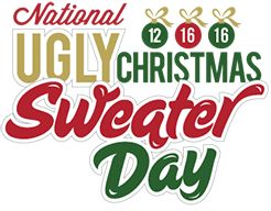 What Is National Ugly Christmas Sweater Day? (And you have 2 days in which to prepare)
