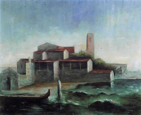 Lo squero di San Trovaso  - Carlo Carra