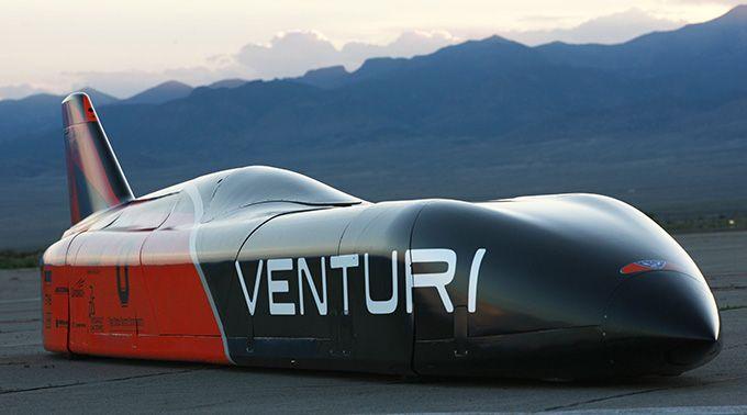 Un vehículo eléctrico puede correr a 576 km/h