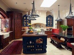 Современная кухня в стиле готика