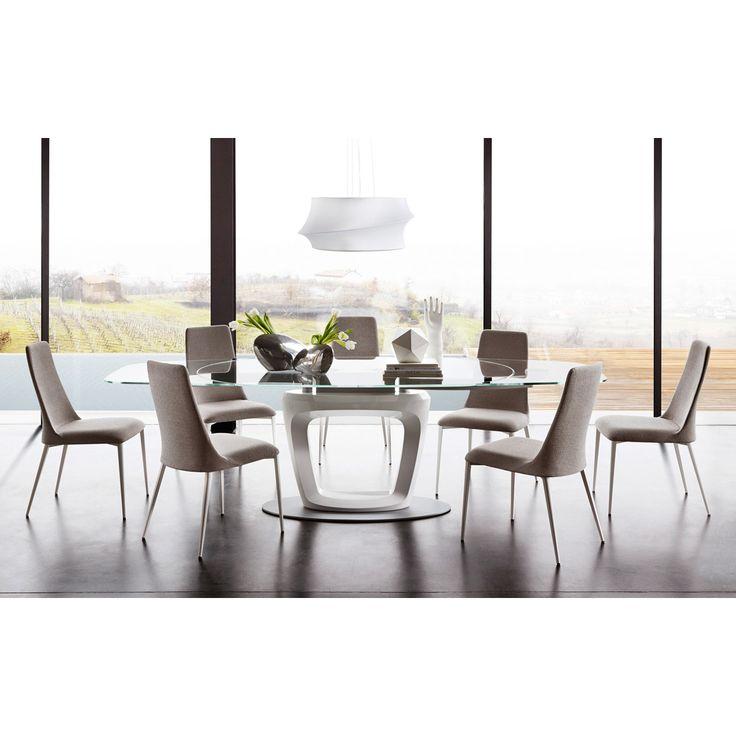 calligaris etoile dining chair metal frame