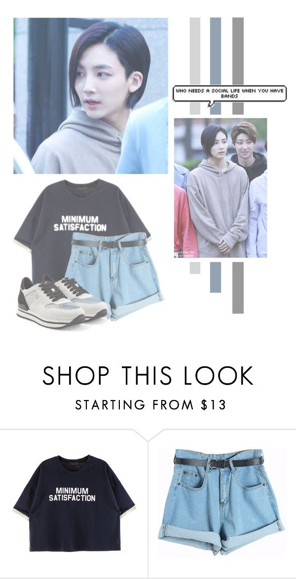 """Yoon Jeonghan"" by lazy-alien ❤ liked on Polyvore featuring Chicnova Fashion, Hogan, seventeen, Jeonghan and yoonjeonghan"