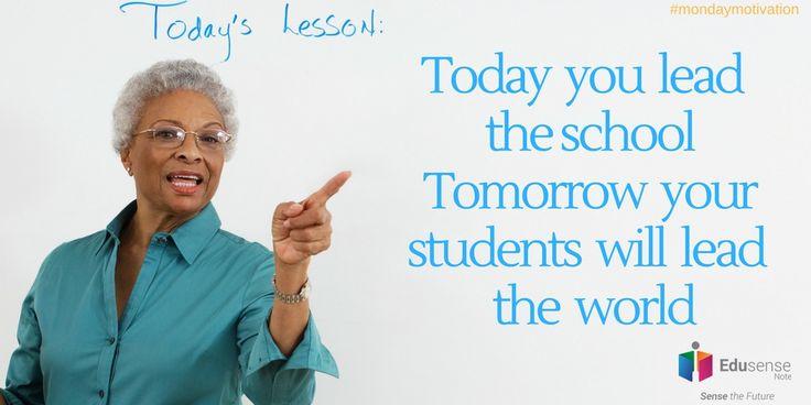 Monday motivation #Edusense Note www.edusensenote.com