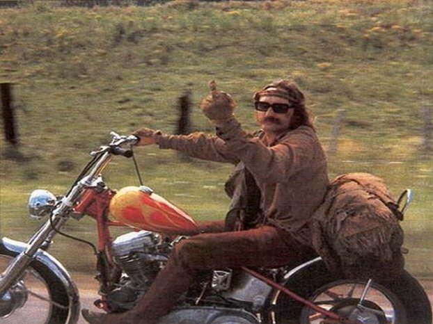 Dennis Hopper in Easy Rider | Dennis Hopper | Pinterest