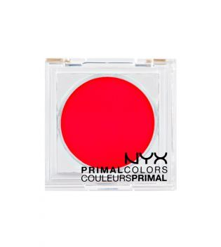 NYX - Sombra de ojos Primal Colors - PC07: Hot Red