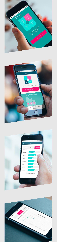IQ Friends Mobile Application Design
