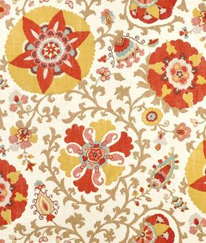 Shop Braemore Silsila Curry Fabric at onlinefabricstore.net for $21.75/ Yard. Best Price & Service.