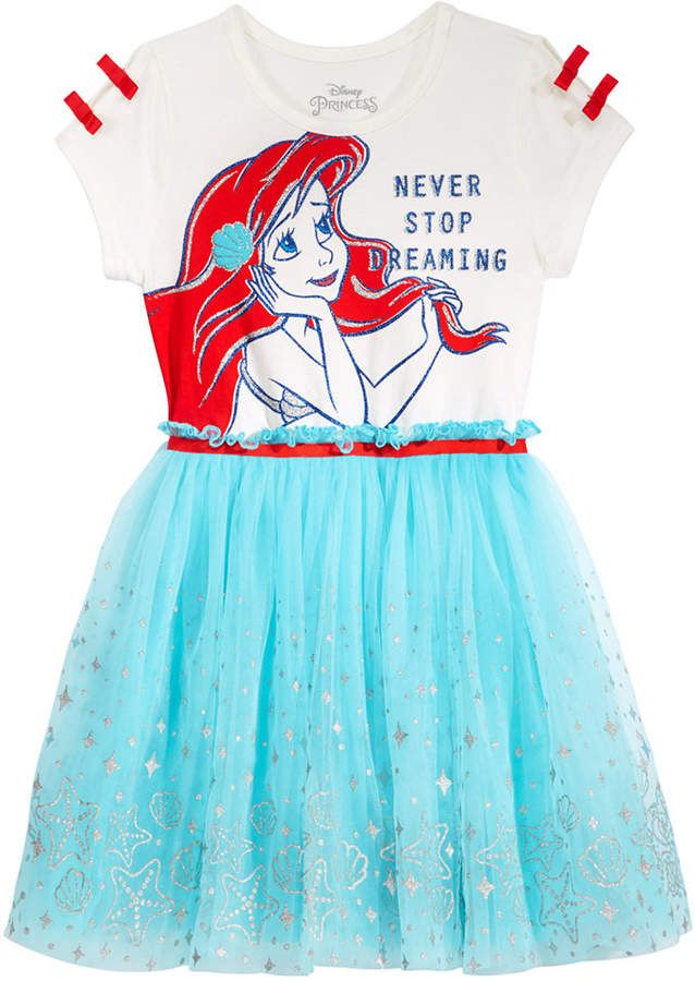 a83b6f9d8 Disney's Ariel Layered-Look Dress, Toddler Girls May contain affiliate  links | Disney Clothes Kids in 2019 | Toddler girl dresses, Kids outfits,  ...