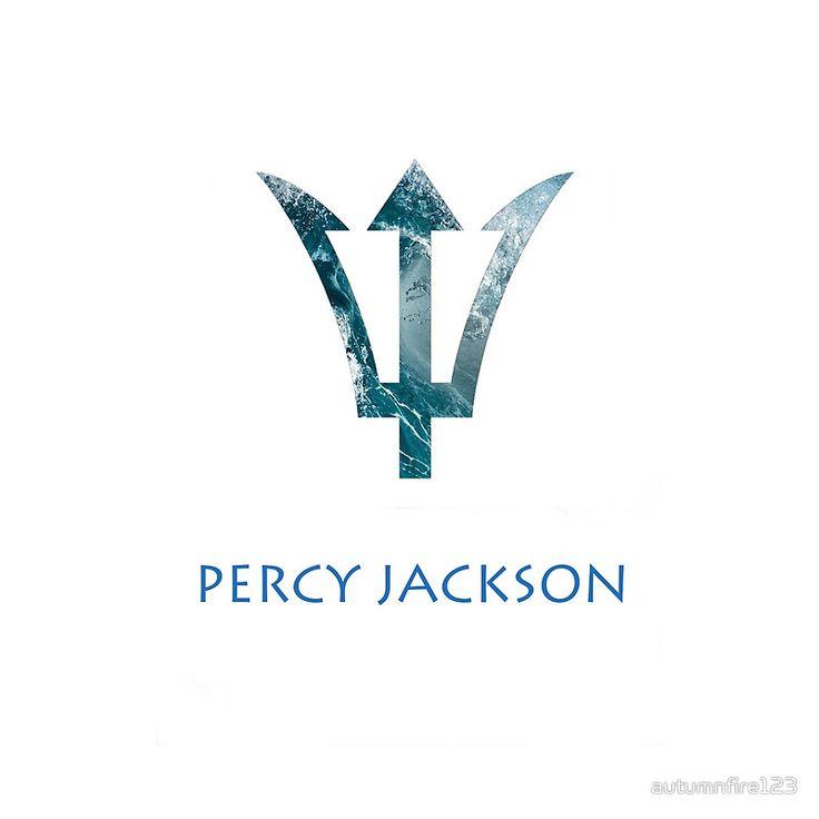 Percy Jackson Trident Tattoo Design