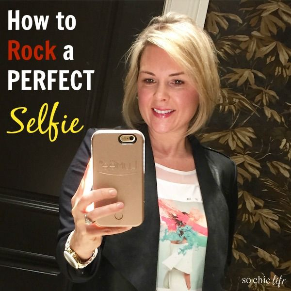 Not loving your selfie game? I found the perfect phone case to help you rock that perfect selfie!