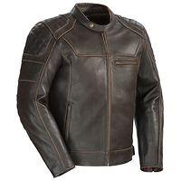 <b>Cortech 'Dino' Men's Brown Leather Jacket</b>