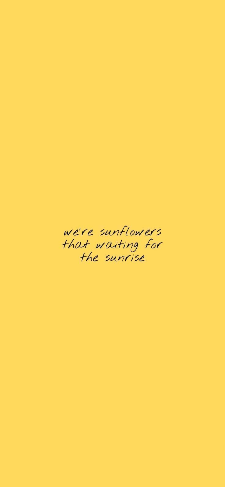 Pin On Yellow Aesthetic Wallpaper Iphone Quote Aesthetic Sunflower Quotes Yellow Quotes