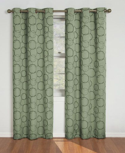 eclipse curtains eclipse curtains meridian grommet window curtain single or linen