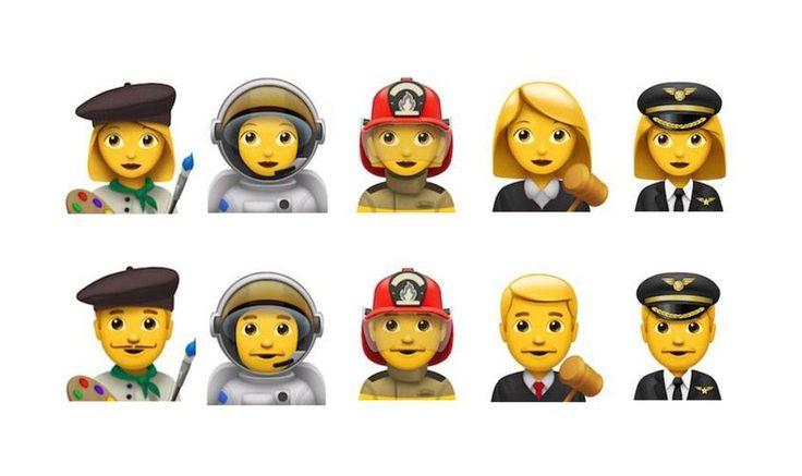 Unicode's next emoji update focuses on gender and jobs - http://www.sogotechnews.com/2016/08/26/unicodes-next-emoji-update-focuses-on-gender-and-jobs/?utm_source=Pinterest&utm_medium=autoshare&utm_campaign=SOGO+Tech+News