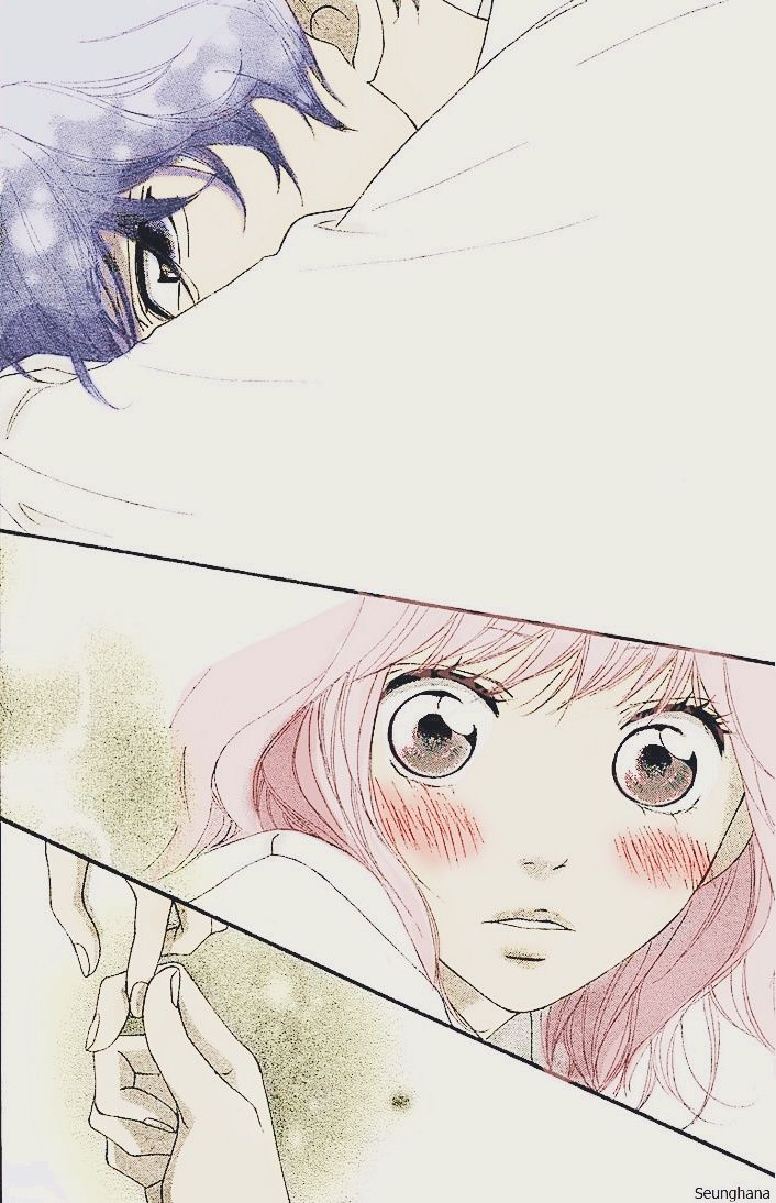 Ao Haru ride Kou + Futaba ~ by Seunghana on deviantART
