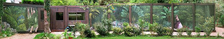 "Fresco bungalows ""Equatorial Forest"" in Isere by Patrick Commecy & A.Fresco (Eyzin-Pinet, France)"