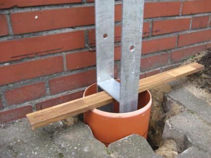 Carport Zaune Pforten Pfosten Fundament Formrohre Betonblock Garten Gartendesign Ideen Garten Design Plane