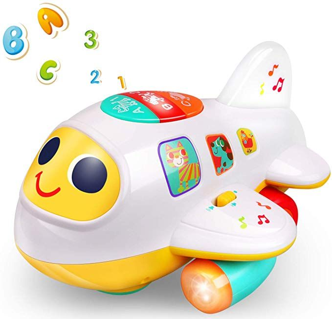 Amazon.com: Rigoo Baby Electronic Musical Airplane Toys ...