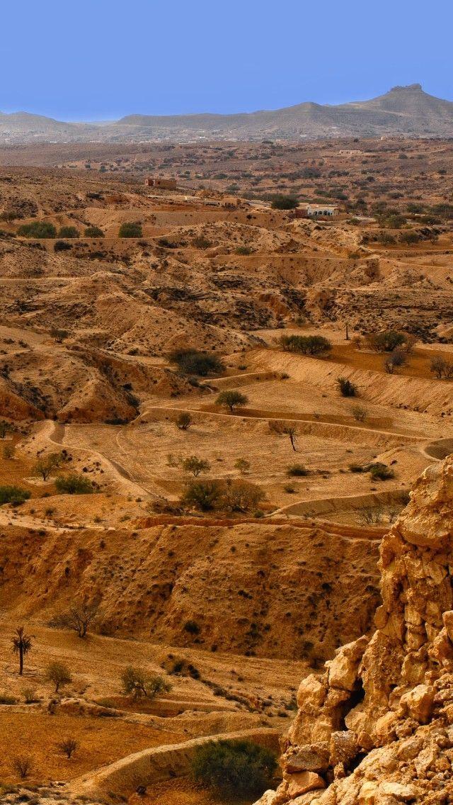 Sahara Desert Tunisia.