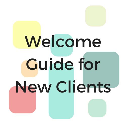 This customizable Google Doc Template makes it EASY to have a professional looking digital document to present your clients during the Onboarding Process.