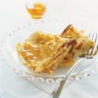 Crêpes Grand Marnier. Frans recept voor hele dunne pannenkoeken. Overheerlijk met roomijs.