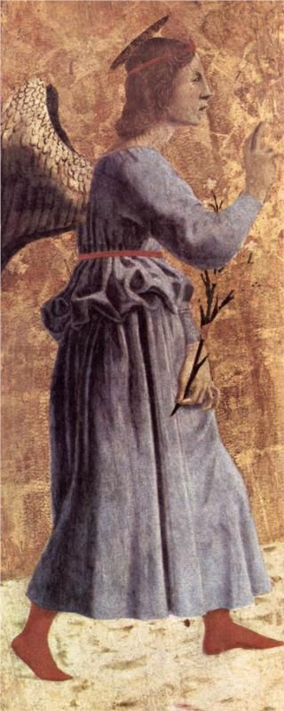 Archangel Gabriel Artist: Piero della Francesca