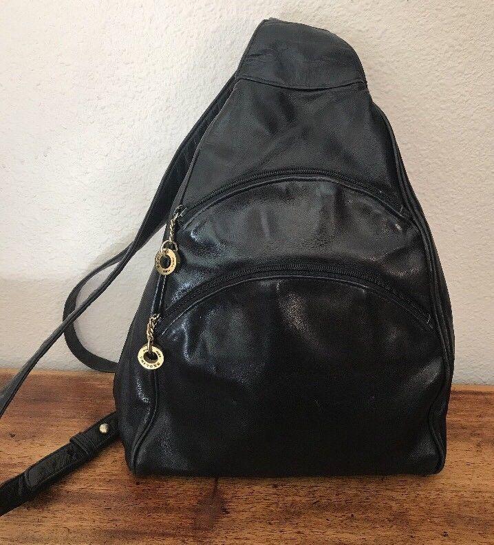 PERLINA New York Soft Brown Leather Backpack Sling Shoulder Bag!   22.50  End Date  Friday Nov-2-2018 15 55 20 PDT Buy It Now for only … 360843cc12d03