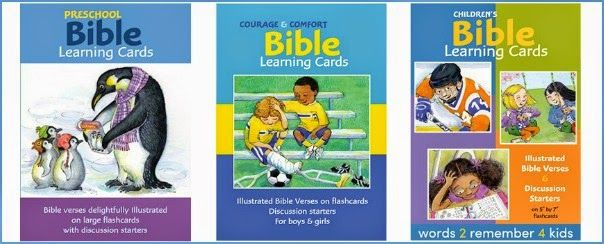 One aspect of homeschooling that I sincerely treasure, is my ability to talk freely with my children about God and point them to His Word as issues pop up.  This review features Bible Learning Cards, an exceptional resources for training children to seek out answers in the context of scripture. Read the full review at http://www.homescooleducation.com/blog/bible-learning-cards-by-words-2-remember-4-kids