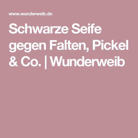 Schwarze Seife gegen Falten, Pickel & Co. | Wunderweib