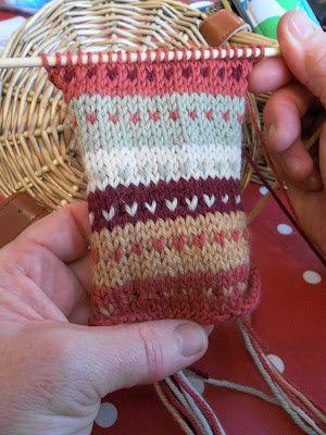 Le Studio Design: tricoter avec la couleur. Stranded couleur et Fair Isle Knitting atelier.