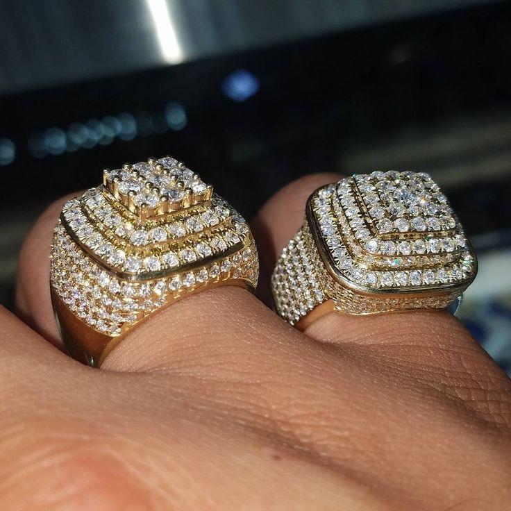New 14k Vvs Diamond Rings Rings For Men Diamond Ice Diamond