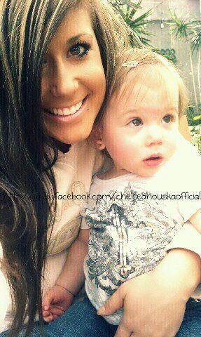 Chelsea Houska& Aubree Skye - teen-mom-2 photo I love her!! She loves leopard too!!!