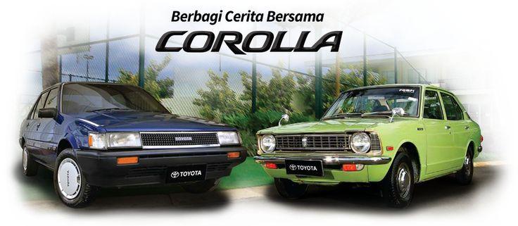 2976) Mobil Sedan Corolla dari Generasi ke Generasi