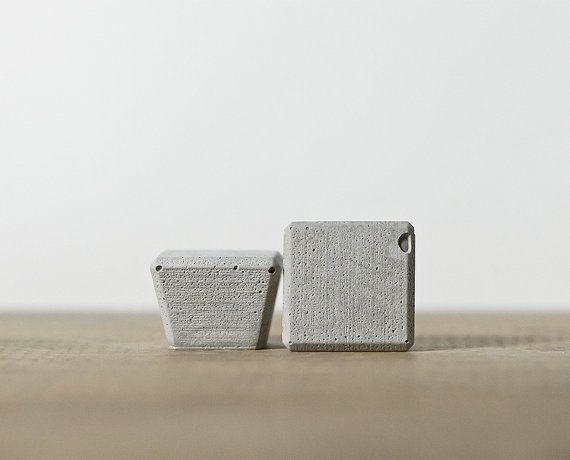 SOPHIE Concrete manopole / / cassetto tira / di KastConcreteKnobs