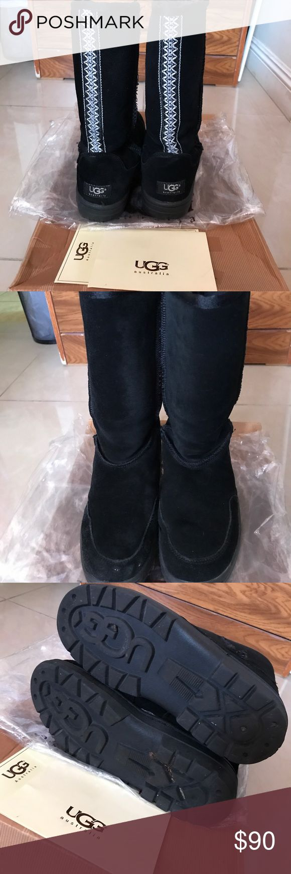 UGG Australia Boots Good condition. Very warm and comfortable UGG Shoes Winter & Rain Boots