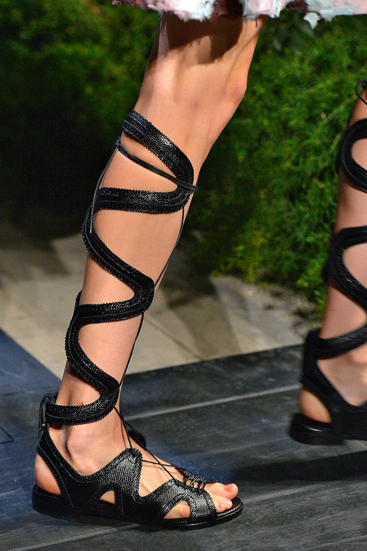 10 Accessory Trends Worth The Waitlists #refinery29  http://www.refinery29.com/best-fashion-week-accessories-trends#slide5  Erdem