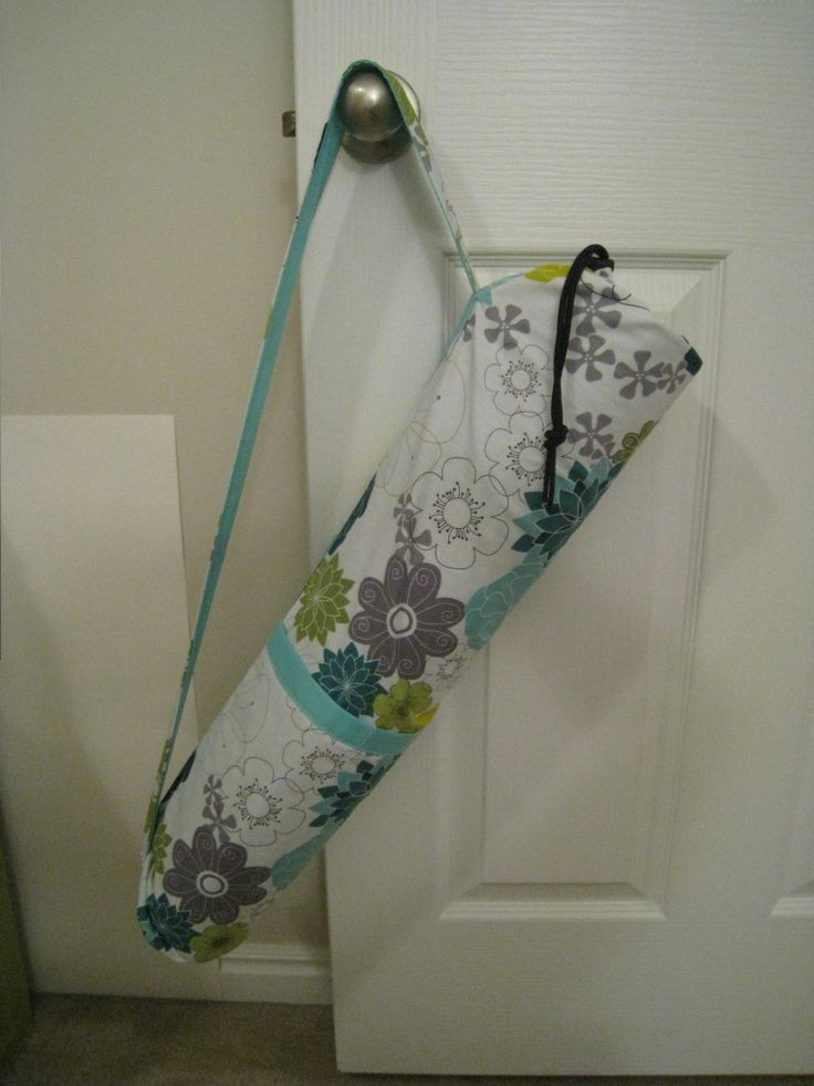 Yoga Mat Carrier Sewing Tutorial. Easy to follow and